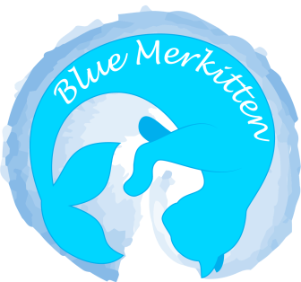 bluemerkitten logo transparent medium