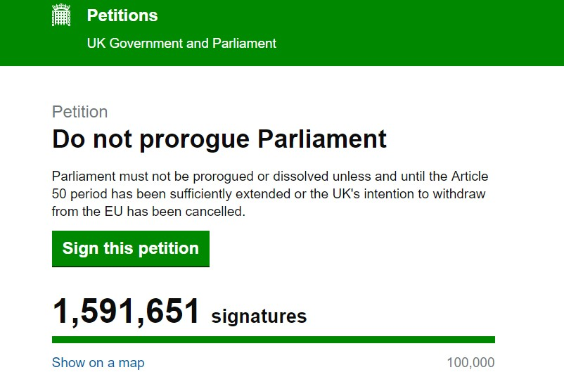 prorogue petition 30.8.19