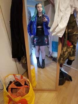 Pre Shoot Selfie